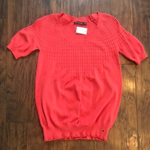 The Limited Shortsleeve Sweater Blouse